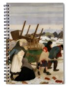 Returning To The Reconquered Land Spiral Notebook