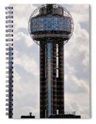 Reunion Tower - Dallas Texas Spiral Notebook