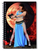 Revenge Of The Space Princess Spiral Notebook