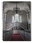 Reverence - Bennington First Church Spiral Notebook
