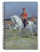 Reviewing The Troops Spiral Notebook
