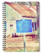 Revolutionary War Skirmish At Horn Creek Baptist Church Spiral Notebook