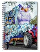 Rex Mardi Gras Parade Iv Spiral Notebook