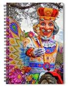 Rex Rides In New Orleans Spiral Notebook