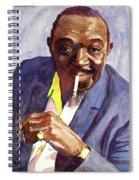 Rex Stewart Jazz Man Spiral Notebook