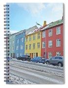 Reykjavik Street Iceland 2 3122018j2325.jpg Spiral Notebook