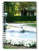Reynolda Fountain Spiral Notebook