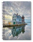 Reflection Dawn Spiral Notebook