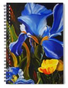 Rhapsody In Blue Spiral Notebook