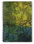 Rhapsody Of Colors 72 Spiral Notebook