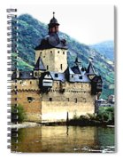 Rhine River Castle Spiral Notebook