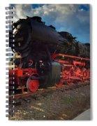 Rhineland-palatinate Locomotive Spiral Notebook
