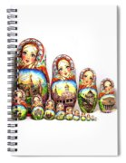 Rhinestones Of Moscow Spiral Notebook