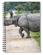 Rhino Crossing Spiral Notebook