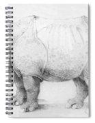 Rhinoceros Spiral Notebook