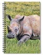 Rhinosceros Spiral Notebook