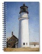 Cape Cod Light Spiral Notebook