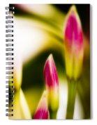 Rhododendron Buds Spiral Notebook