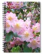 Rhododendron Flowers Garden Art Prints Floral Baslee Troutman Spiral Notebook