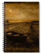 Rhos Point Beach Spiral Notebook