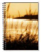 Rhos Point Viewed Through Beach Grass Spiral Notebook