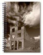 Rhyolite Nevada Ghost Town Spiral Notebook