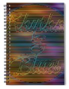 Rhythm And Blues Spiral Notebook