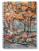 Rhythm Of The Forest Spiral Notebook