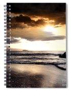 Rhythm Of The Island Spiral Notebook