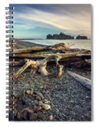 Rialto Beach Washington Spiral Notebook