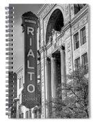 Rialto Square Theater Spiral Notebook