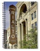 Rialto Theater Spiral Notebook