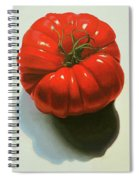 Ribbed Heirloom Tomato Spiral Notebook
