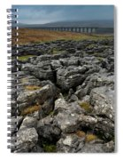 Ribblehead Viaduct, Yorkshire, England Spiral Notebook