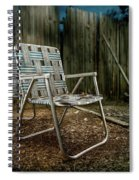 Ribbon Chairs Spiral Notebook