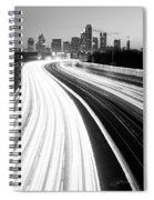 Ribbon Of Light 122117 Spiral Notebook