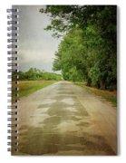 Ribbon Road - Sidewalk Highway Spiral Notebook