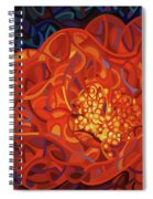 Ribbons And Pearls Spiral Notebook