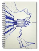 Ribbons Spiral Notebook