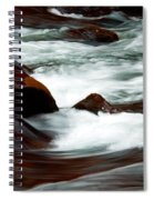 Ribbons Of Water Spiral Notebook