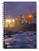 Ribeira Grande At Night Spiral Notebook