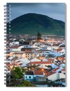 Ribeira Grande At Nightfall Spiral Notebook