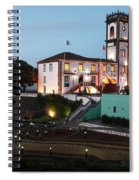 Ribeira Grande Town Hall Spiral Notebook