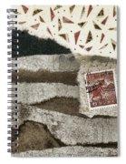 Rice Paddies Collage Spiral Notebook