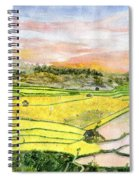 Ricefield Terrace Spiral Notebook