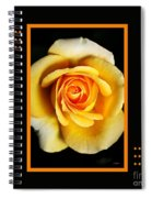 Rich And Dreamy Yellow Rose  With Design Spiral Notebook