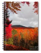 Rich Fall New Hampshire Colors Spiral Notebook