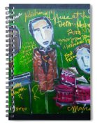 Richard Cheese Live At The Denver Modernism Show Spiral Notebook