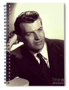 Richard Egan, Vintage Actor Spiral Notebook