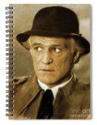 Richard Harris, Vintage Actor Spiral Notebook